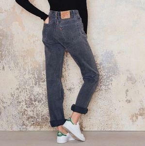 Vintage Levi's 501 Black Jeans